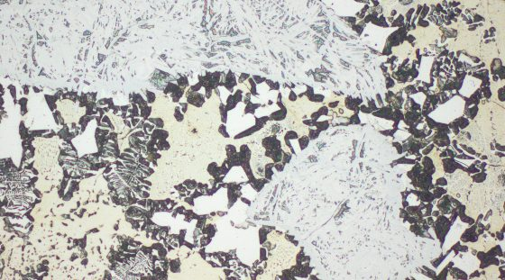 Typisches Gefüge VAUTID Ultra 302 / Typical microstructure VAUTID Ultra 302