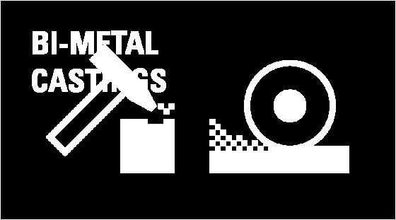 Bi-metal castings