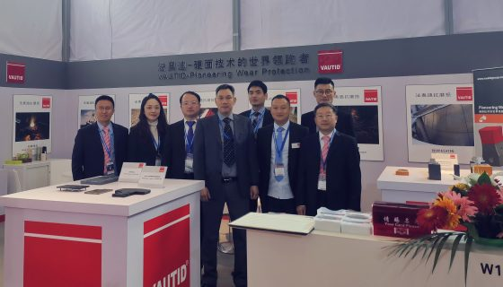 VAUTID auf der China Coal & Mining Expo 2019 (Messestand)
