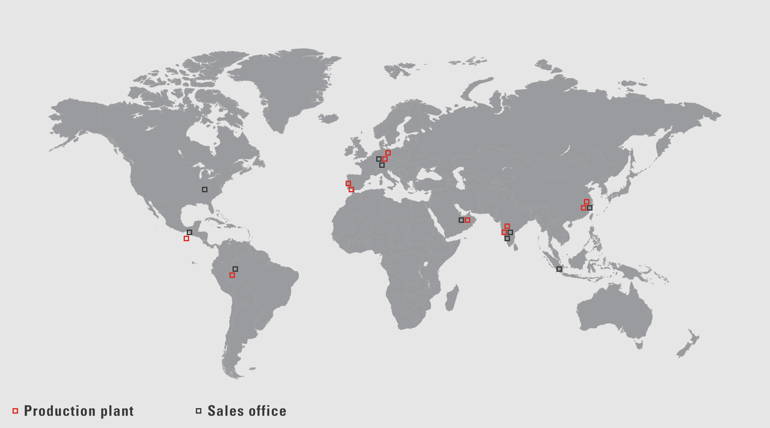 VAUTID sales and production locations