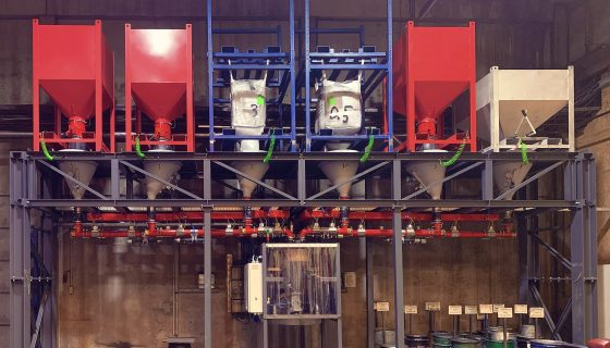 VAUTID dosing and mixing unit